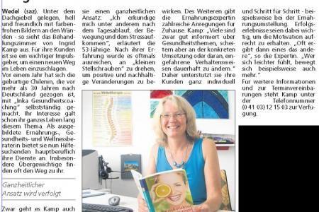 Übergewichtige finden den Weg zu Ernährungsberaterin Ingrid Kamp in Bad Dürkheim