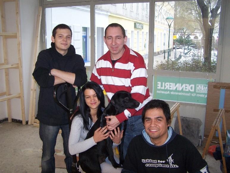 Benno, Maggy, Fernando, Alexander