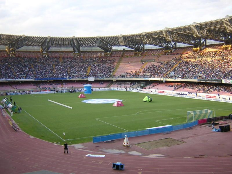 Stadio San Paolo, Napoli, Italy