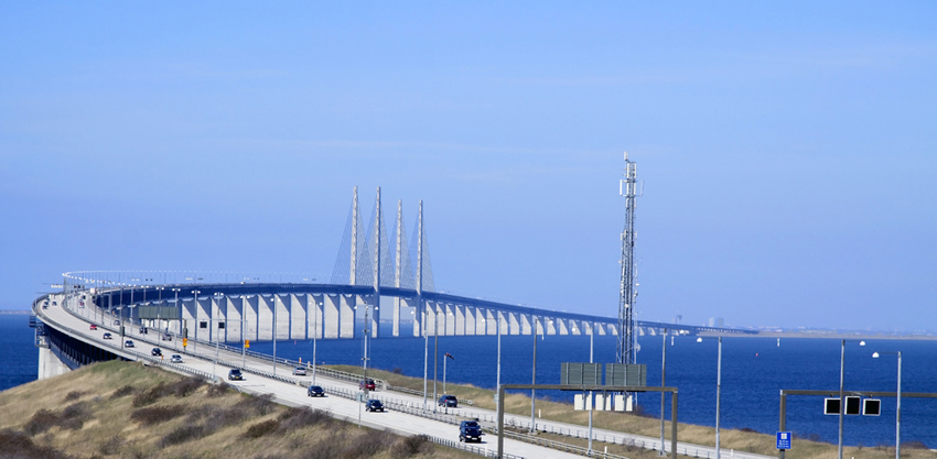 Oresund bridge, Sweden-Denmark