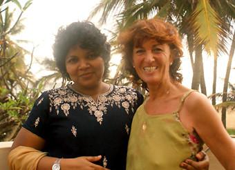 Dr. Swarna Alwis und Marga E. Walter