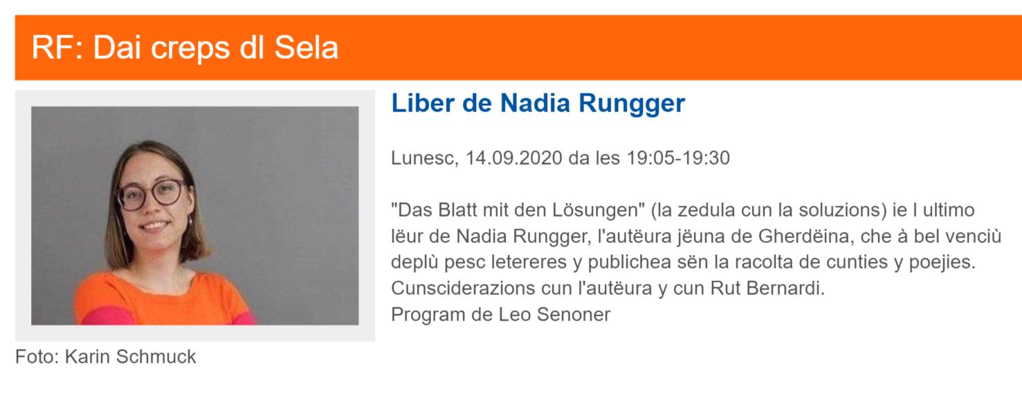 Rai Ladinia   Leo Senoner