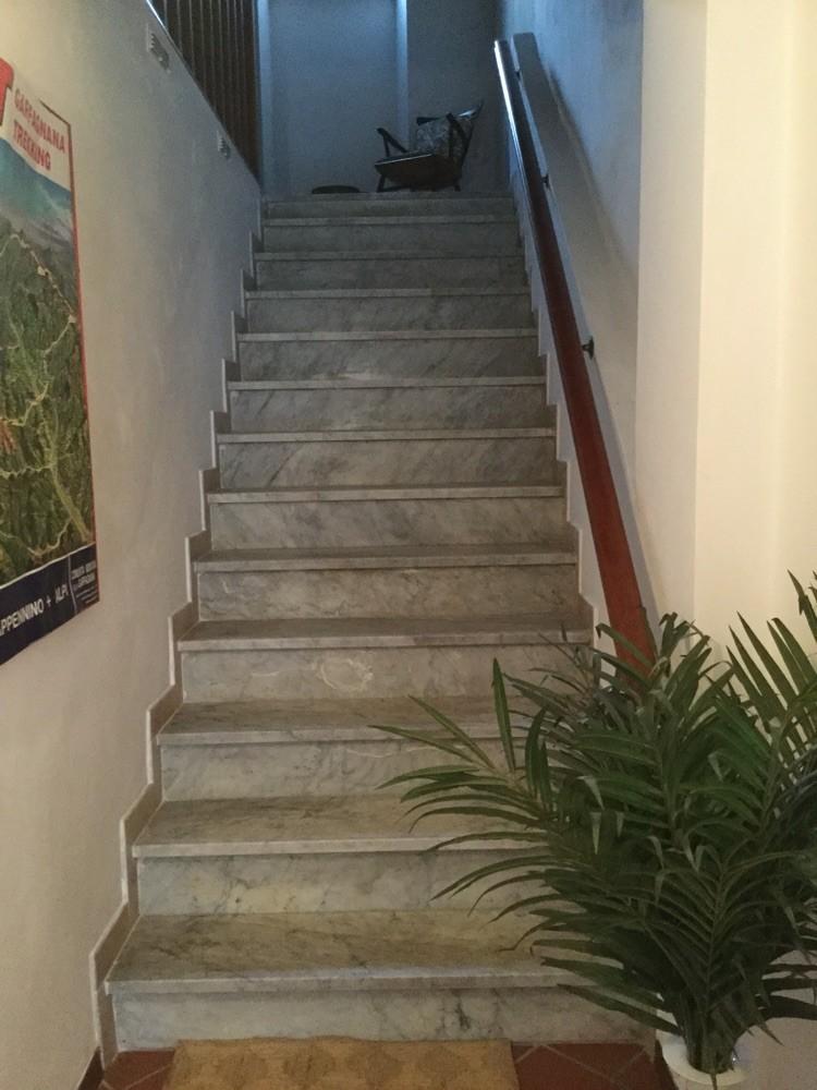 Treppenhaus zum Obergeschoss