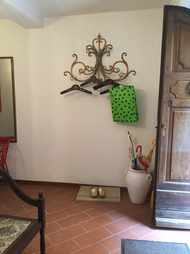Garderobe beim Eingang