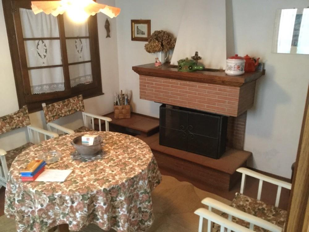 Chemineraum und Küche
