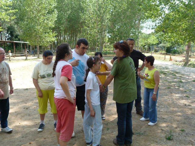 Organizando tareas y actividades entre todos - Equinoterapia Exprés