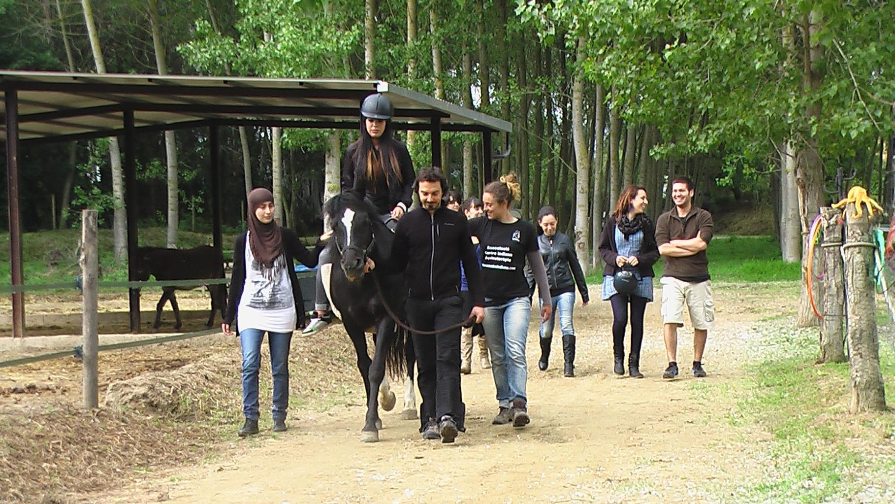 Introducción a la Equinoterapia Institut Vallvera Integración Social