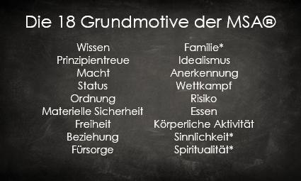 MotivStrukturAnalyse MSA Hamburg - 18 Grundmotive
