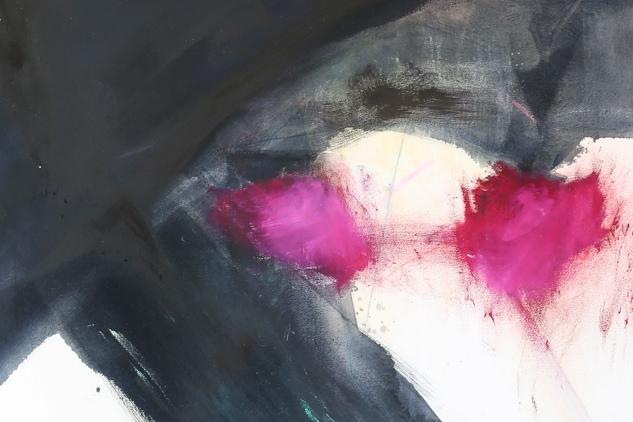 Kreuzung 1  Öl/Acryl    110 x 100 cm