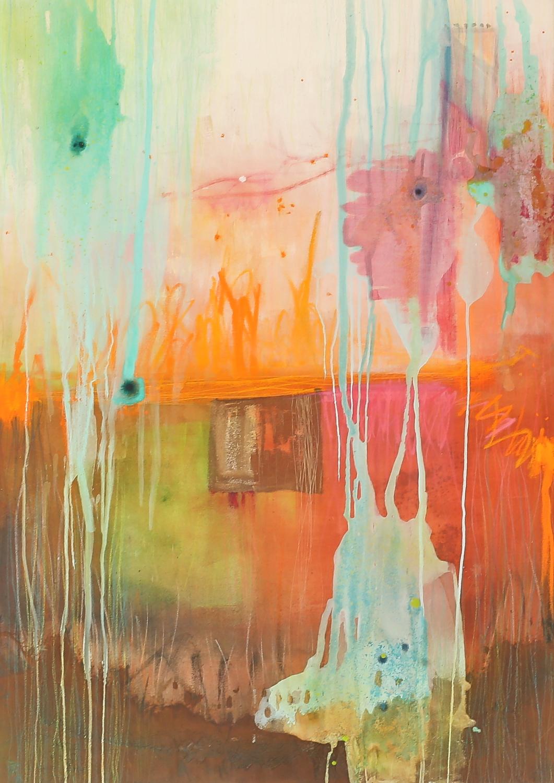 Sissi  Acryl/Öl auf Leinwand  140 x 100 cm