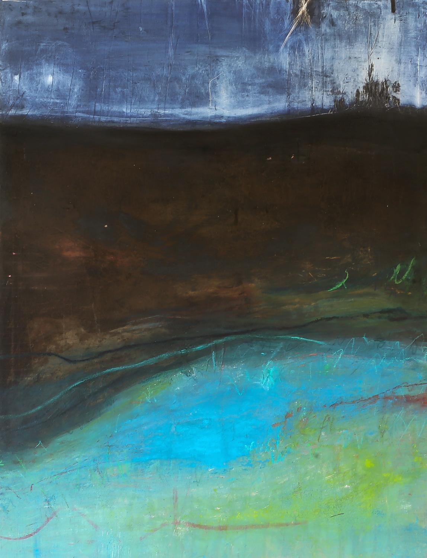Erde -  Acryl/Pigmente  150 x 115 cm