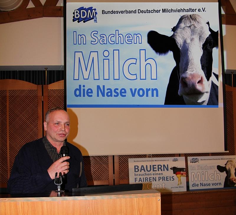BDM- in Sachen Milch, dieNase vorn