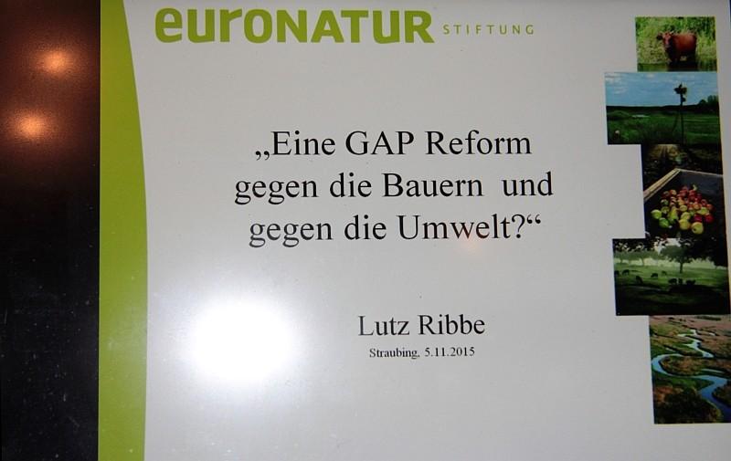 GAP- Reform Vortrag am 05.11.15