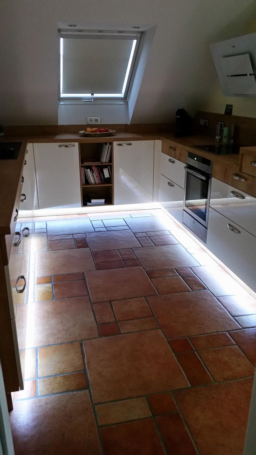 Küchenunterflurbeleuchtung