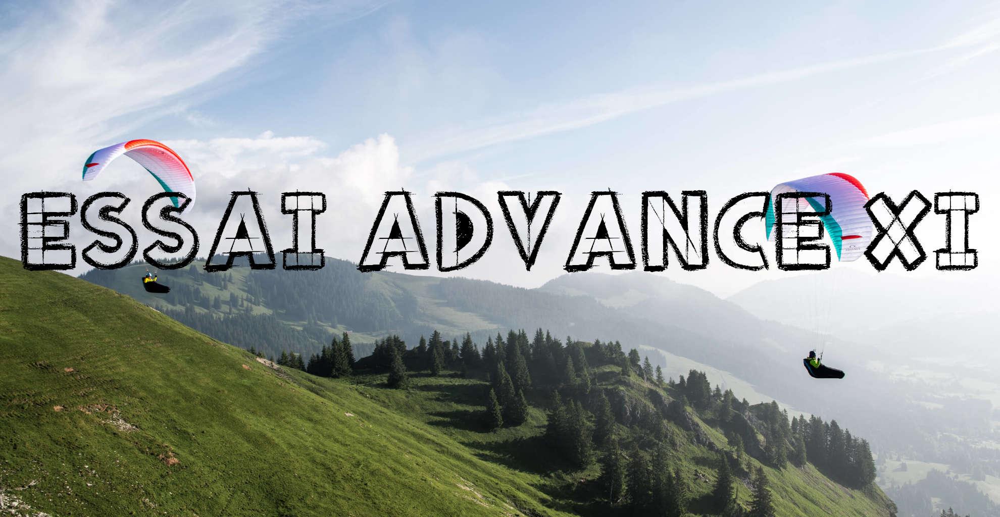 Essai version romancée Advance XI