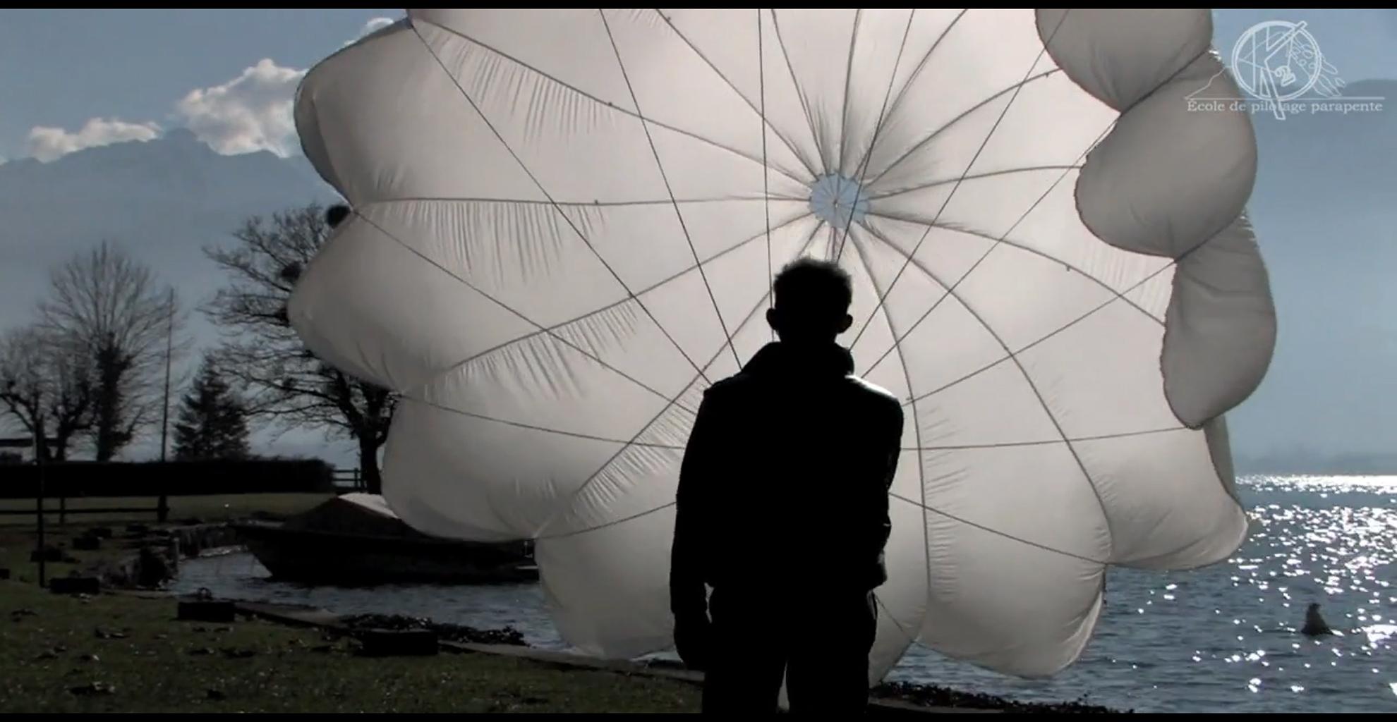 Notices des parachutes de secours et sellettes