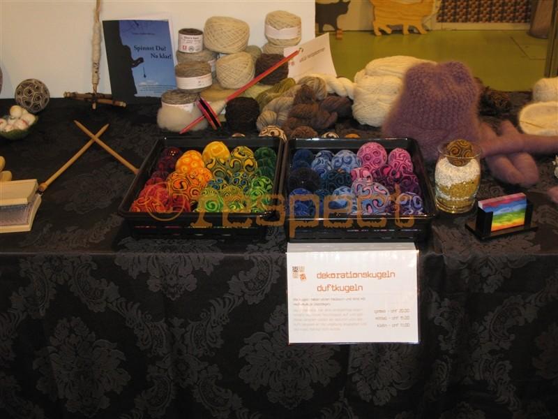 dekorations und duftkugeln aus merino