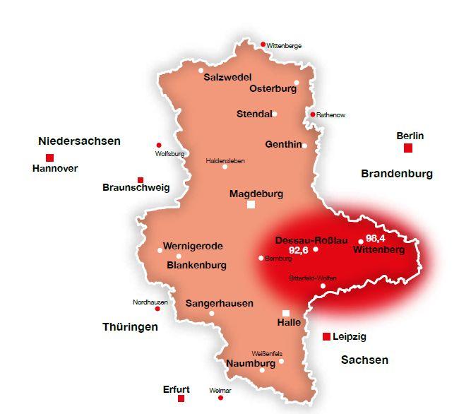 Anhalt/ Wittenberg
