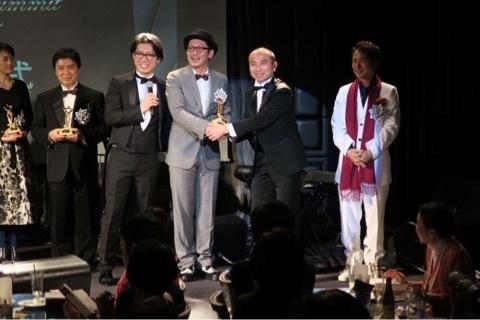 2016年2月には、日本トップマーケター神田昌典先生から表彰され、「知識創造賞」をいただきました。