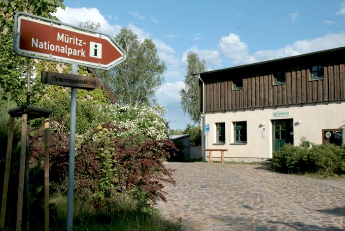 Müritz Nationalpark Info Kratzeburg