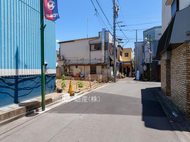 新築戸建 狛江市中和泉5丁目全6棟【5号棟・4LDK】  前面道路