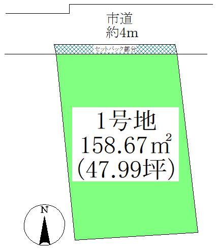 土地 狛江市岩戸北2丁目 135.70㎡(約41.04坪) 区画図