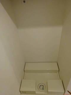新築マンション ザ・パークハイツ西新宿タワー60【25階・2SLDK・81.50㎡・9,980万円】洗濯機置場