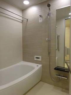 新築マンション ザ・パークハイツ西新宿タワー60【25階・2SLDK・81.50㎡・9,980万円】浴室