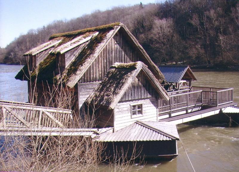 alte Schiffsmühle bei Mureck
