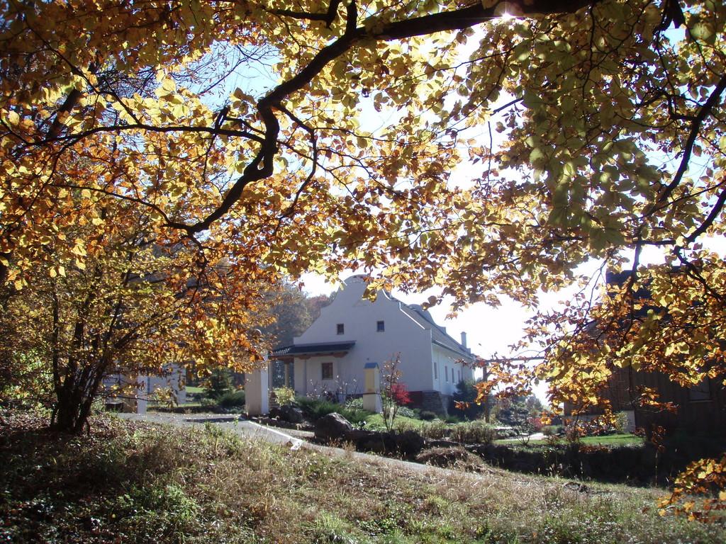 Herbstidylle am Gut