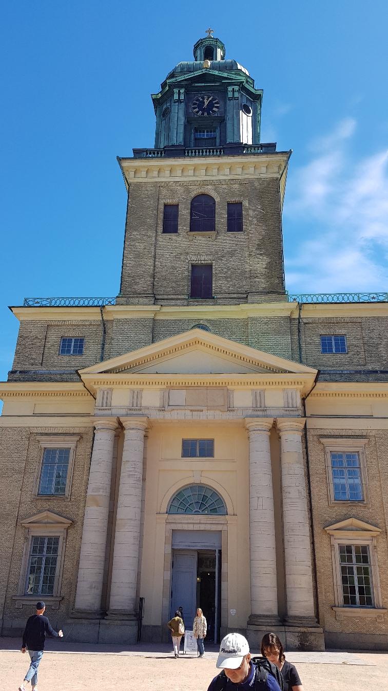 Der Dom mitten in der Stadt
