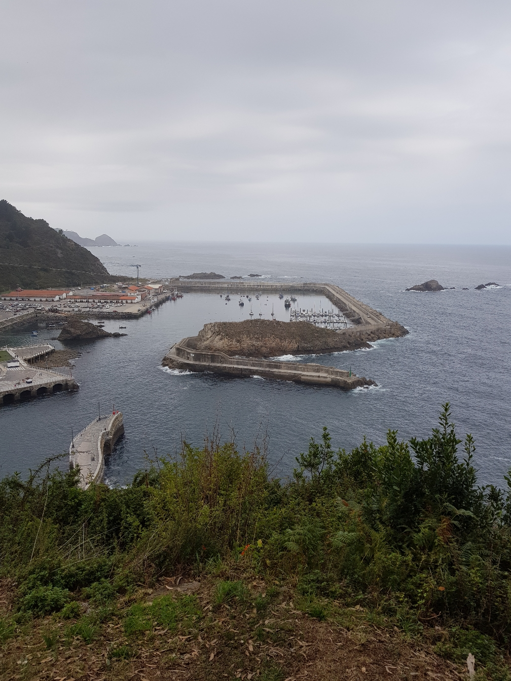 Der Hafen von Cudillero