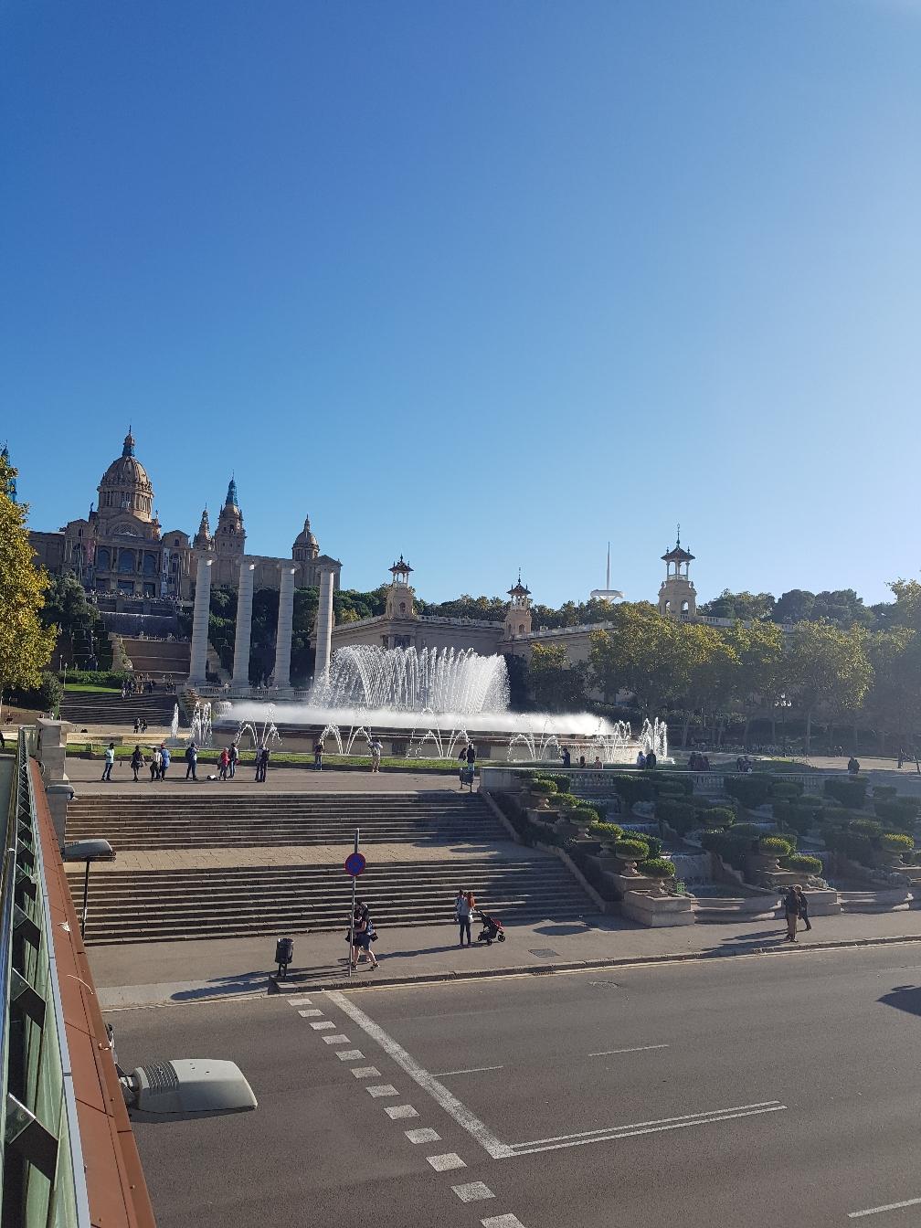 Montjuïc mit dem Font Magica