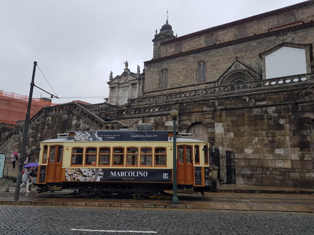 Straßenbahn von Porto