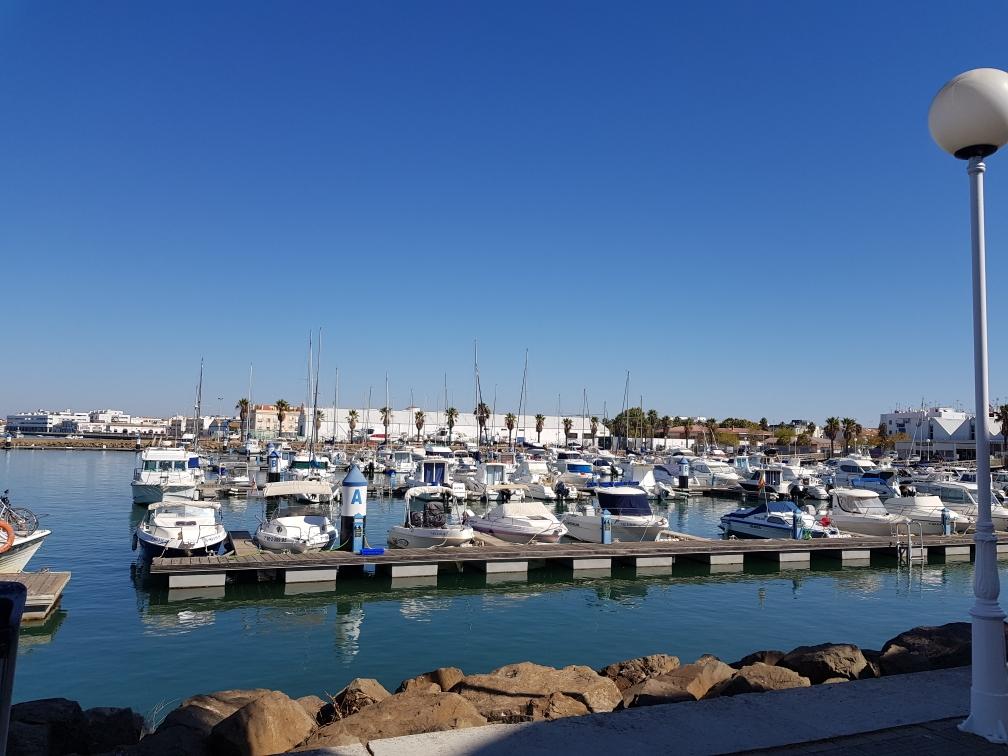 Der kleine Hafen von Isla Cristina, wo man stündlich eine Bootstour hätte machen können, um das anliegende Naturschutzgebiet zu erkunden.