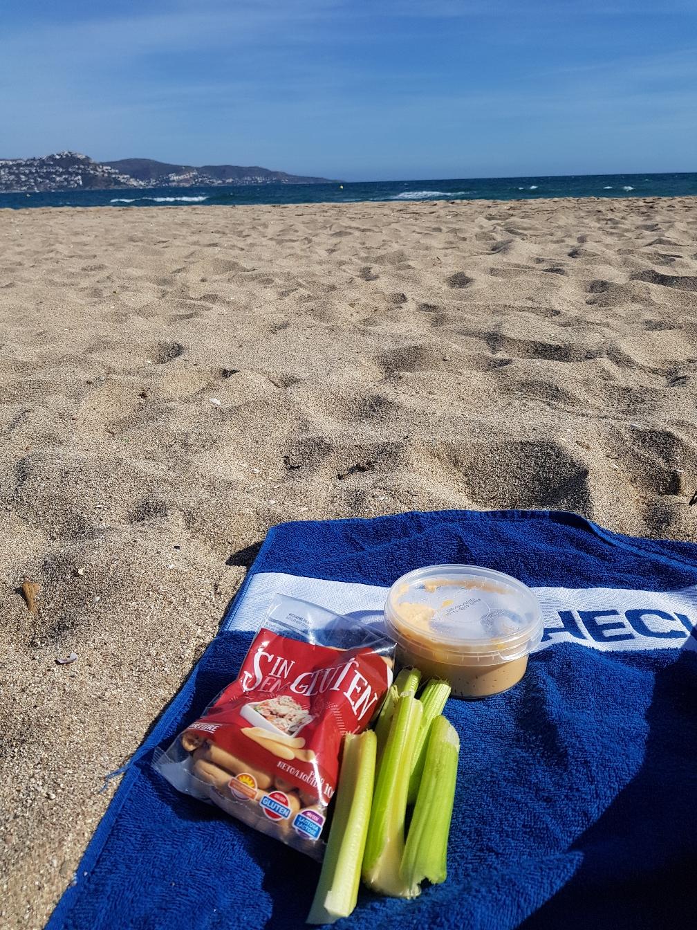 Am Strand isst es sich doch am schönsten