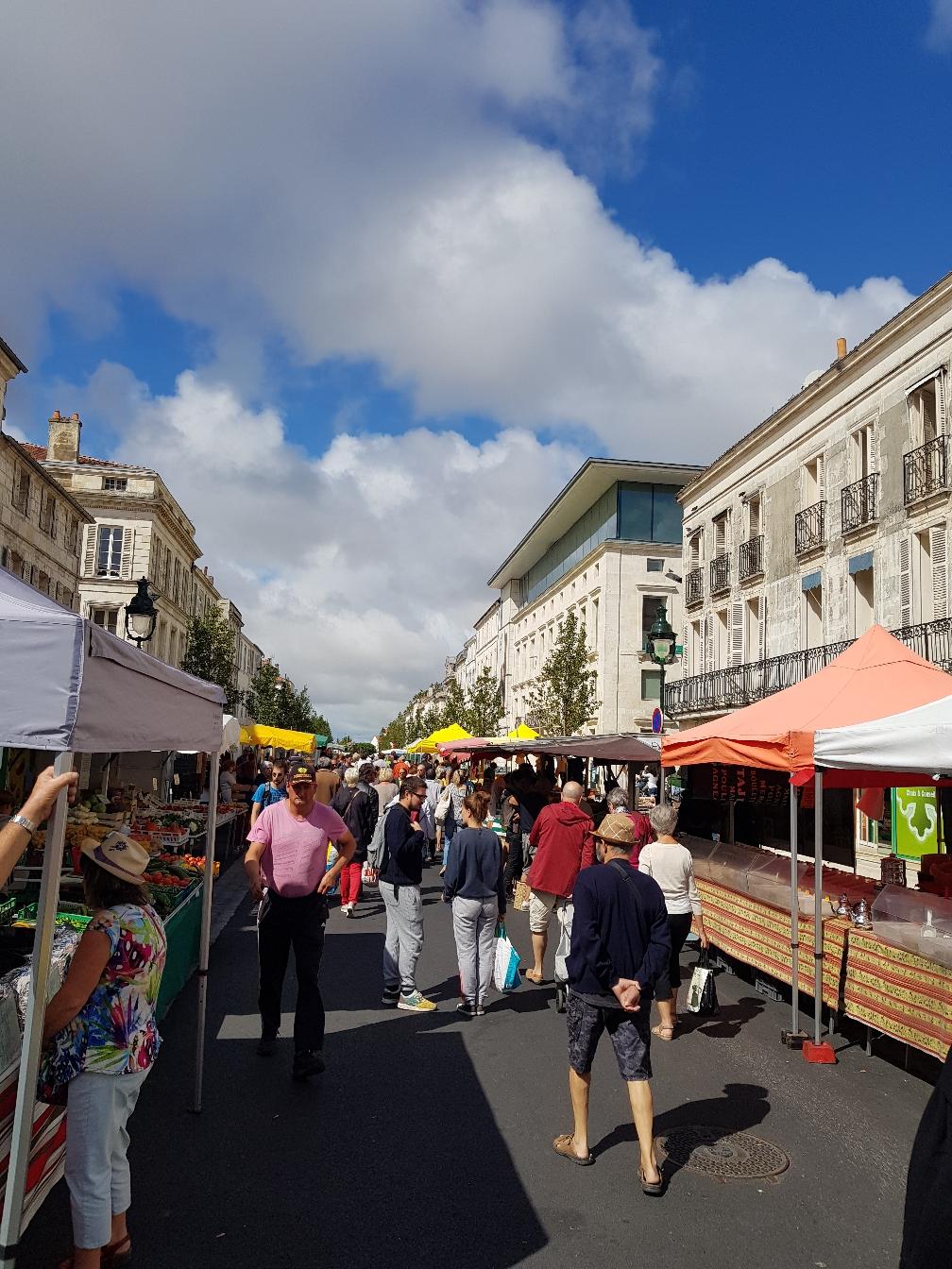 Der Markt in Rcoheofort