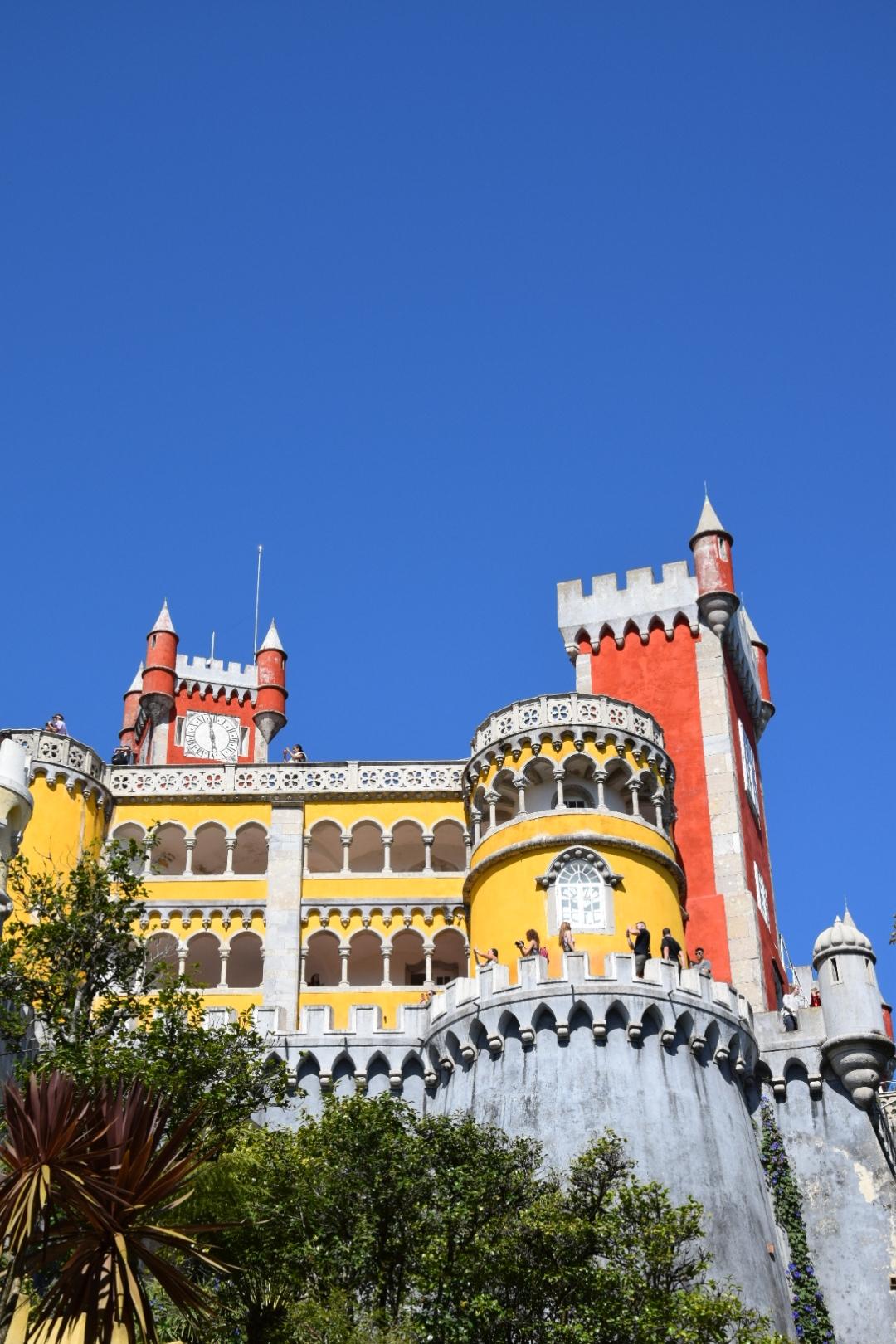 Der Palast von Sintra. Mal etwas anderes