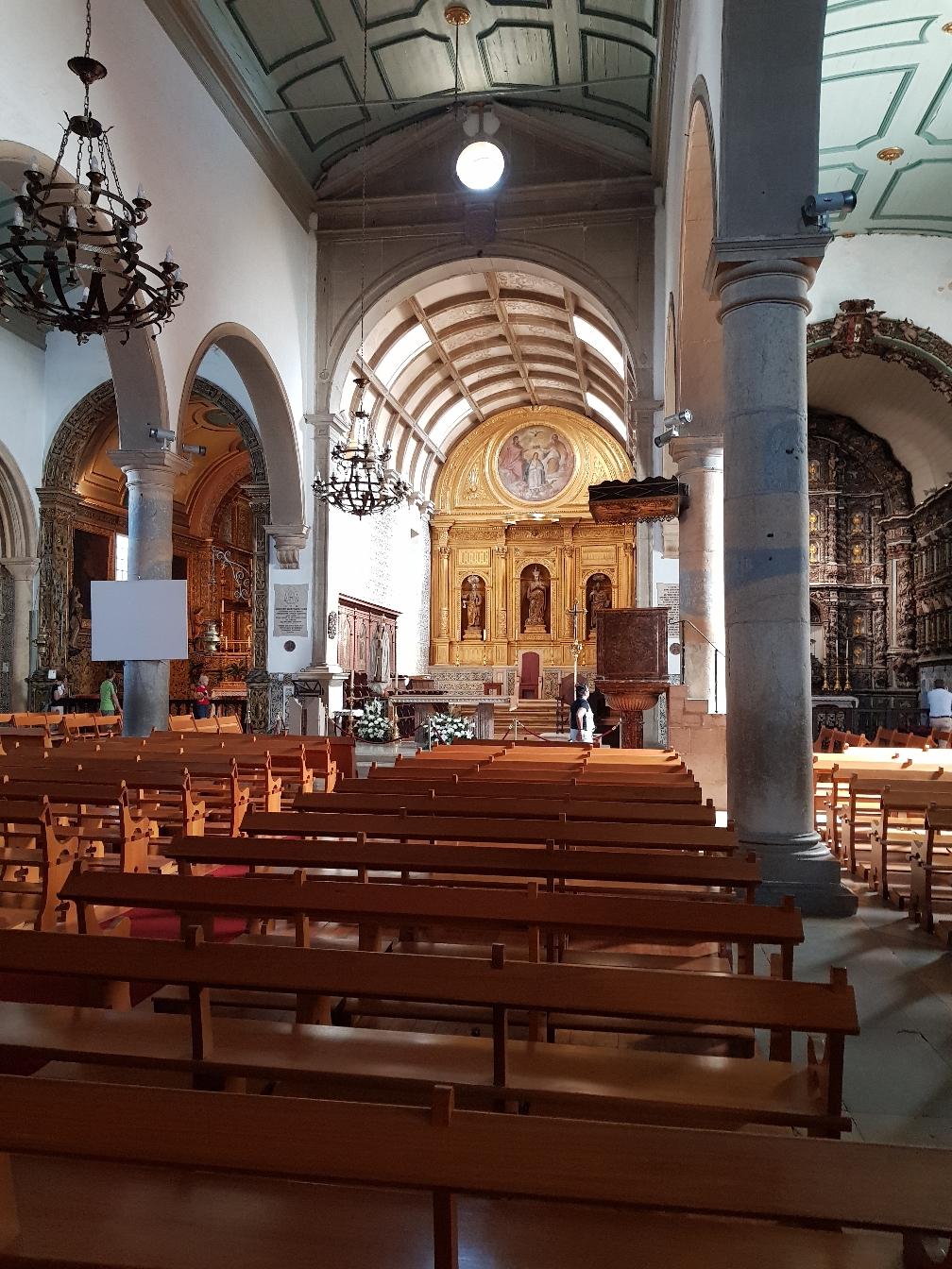 Igreja de Santa Maria von Innen