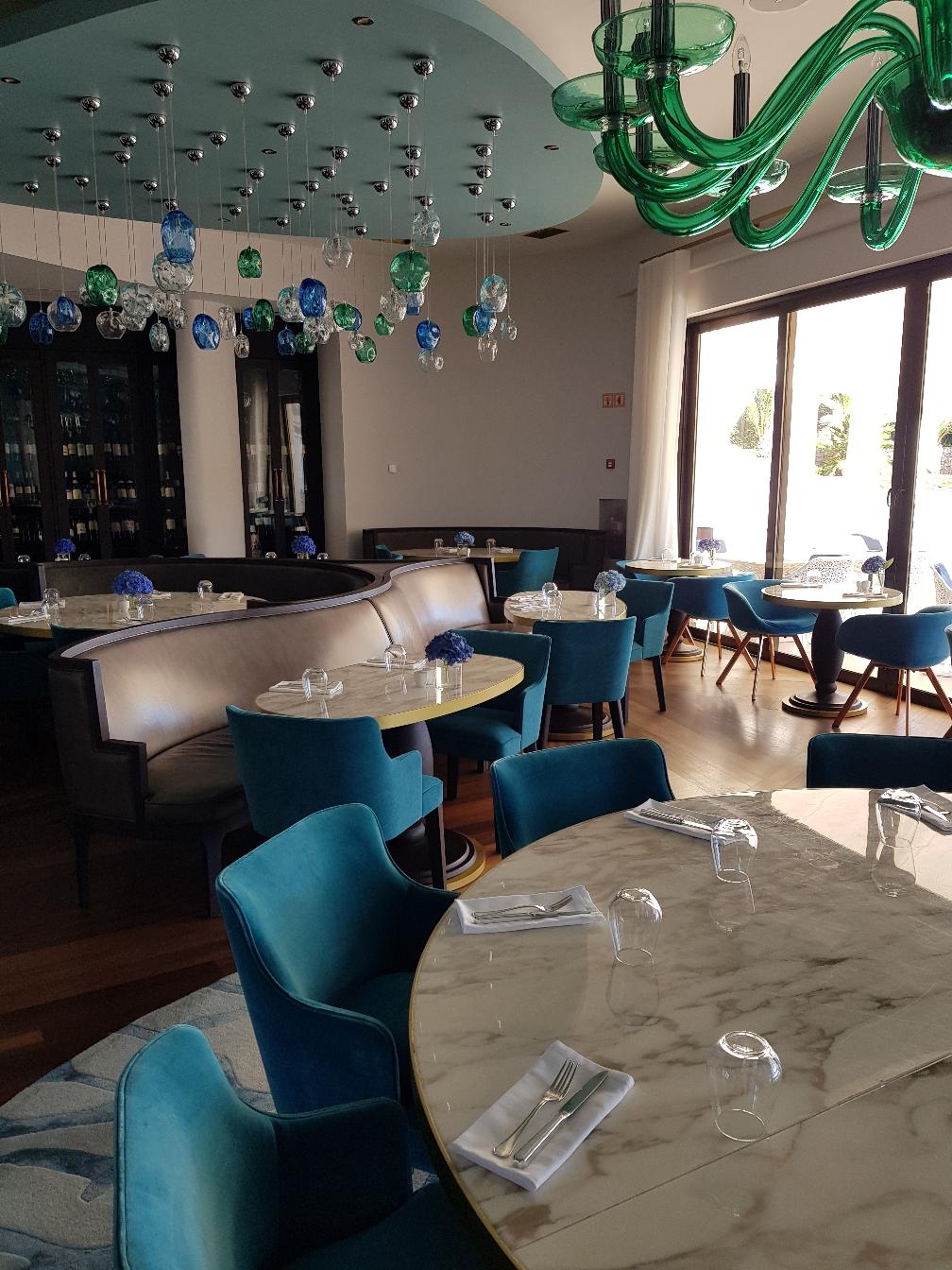 Das 2-Sterne renommierte Restaurant The Ocean