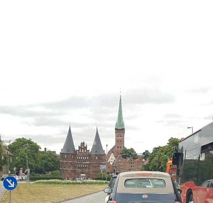 Kurzer Stopp in Lüneburg