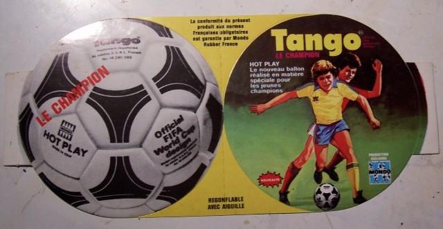 Adesivo pubblicitario pallone Tango