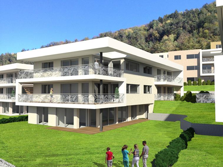 Christelehof Villen Wohnsiedlung - Planzeicnung