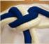 Corda crua-azul