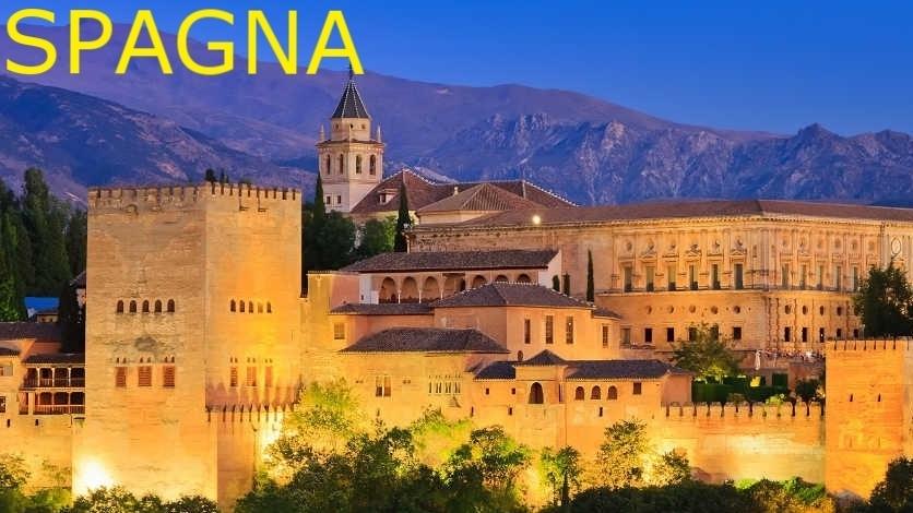 Tour Andalusia € 560 volo a parte