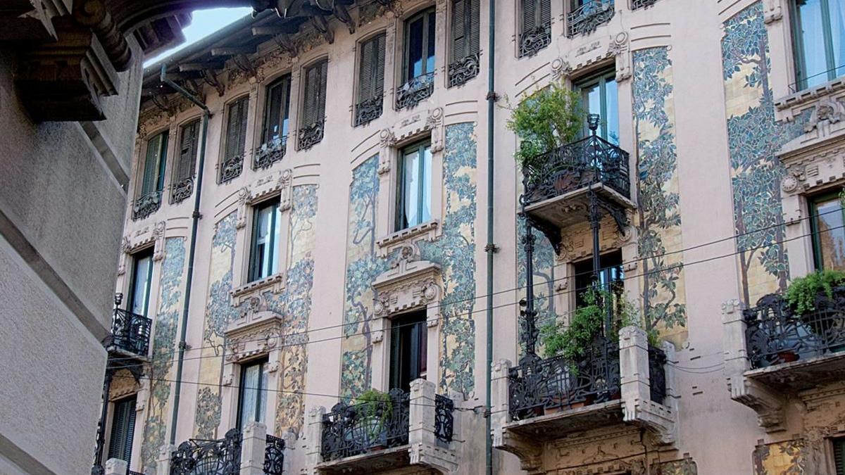 Milano Liberty tra eccletico e romanticismo