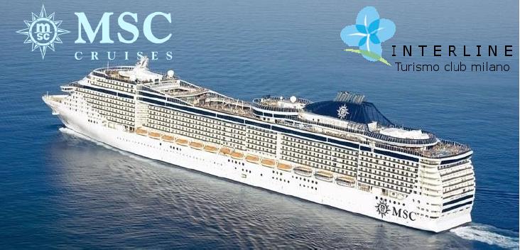 InterLineClub vedi offerte MSC click sul Logo