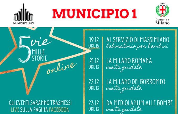 Milano Visite Gratuite in streamig