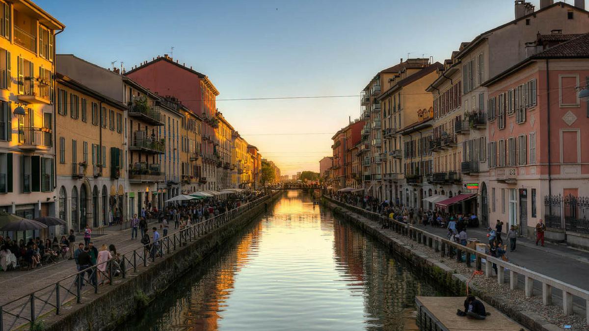 Memorie D' Acqua: I Navigli Di Milano