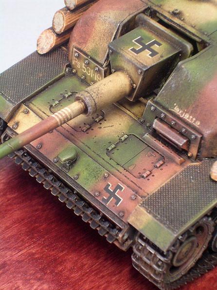Sturmgeschütz III Ausführung G noch ohne Saukopfblende.
